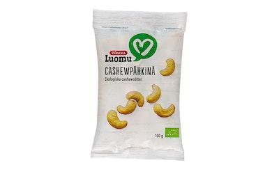 Pirkka Luomu cashewpähkinä 100g
