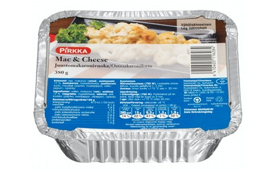 Pirkka mac&cheese juusto-makaronivuoka 380g
