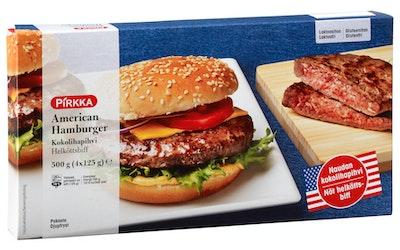 Pirkka American Hamburger kokolihapihvi 500g