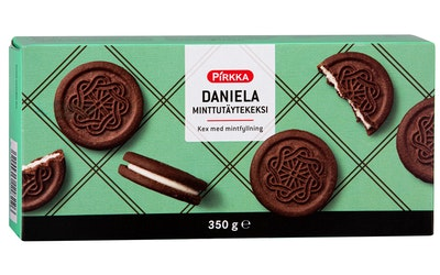 Pirkka Daniela minttutäytekeksi 350g