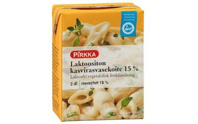 Pirkka laktoositon kasvirasvasekoite 15% 2dl