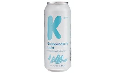 K-Menu greippilonkero light 4,7% 0,5l