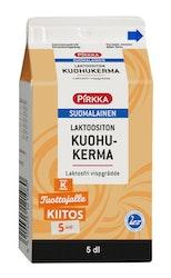 Pirkka suomalainen laktoositon kuohukerma 5dl