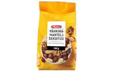 Pirkka pähkinä-mantelisekoitus 180g