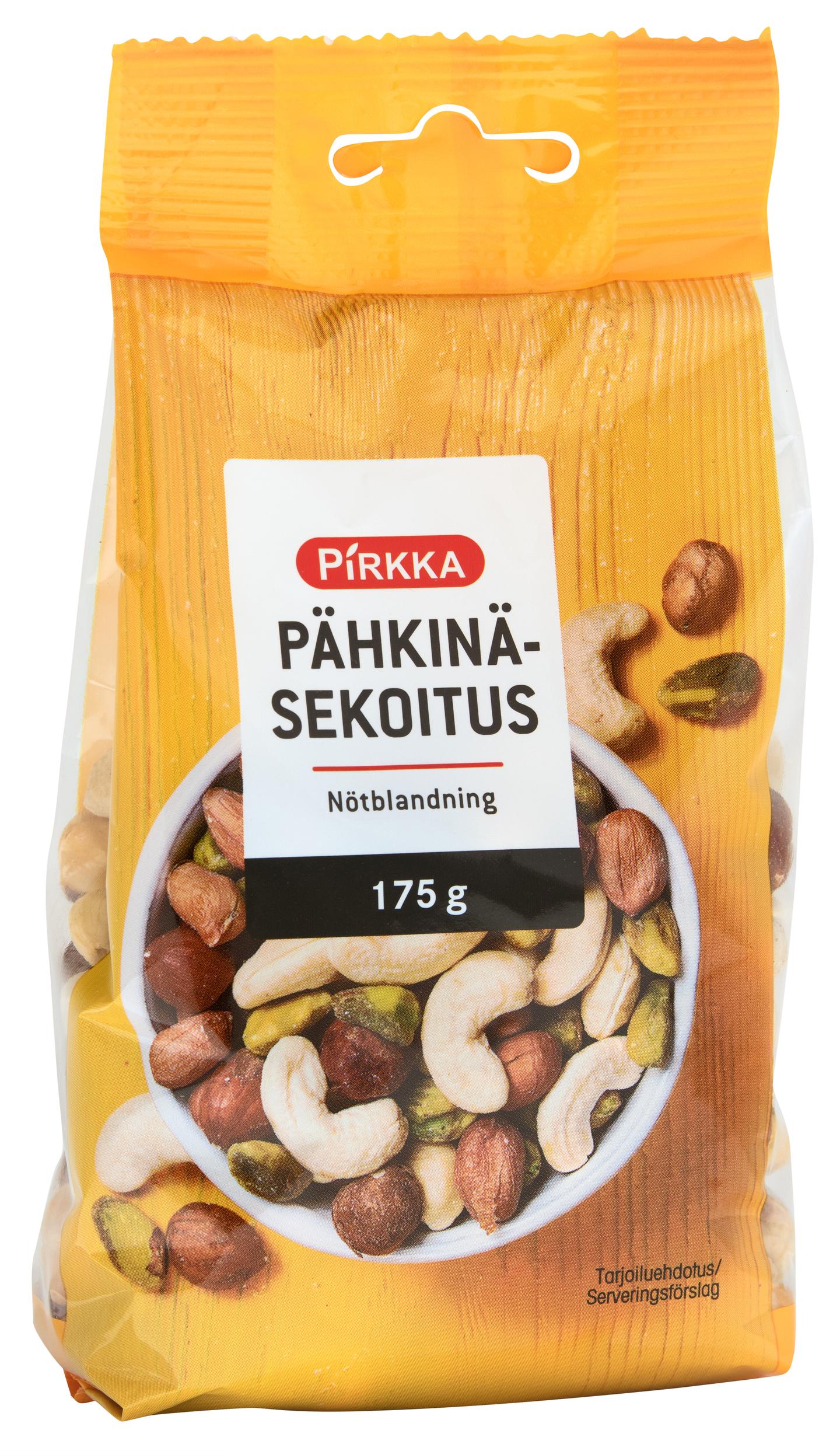 Pähkinä Ravintosisältö