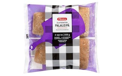 Pirkka gluteeniton palaleipä 4kpl/320g pakaste