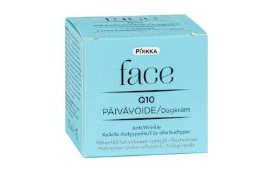 Pirkka Face Q10 päivävoide 50ml anti-wrinkle