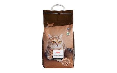 Pirkka puupohjainen kissanhiekka 10l - kuva