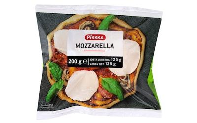 Pirkka mozzarella 200g/125g