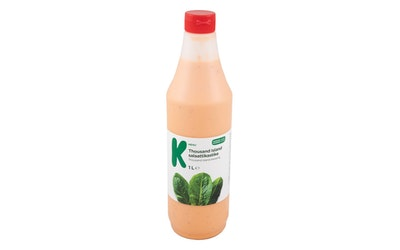 K-Menu Thousand Island salaattikastike 1l