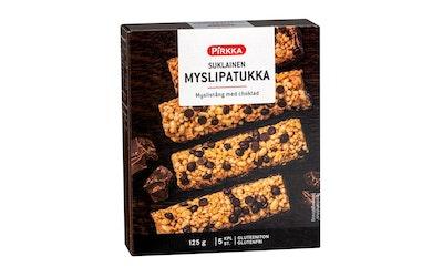 Pirkka suklainen myslipatukka 5kpl/125g gluteeniton
