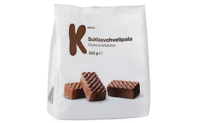 K-Menu suklaavohvelipala 220g