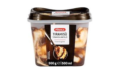 Pirkka Tiramisu italialainen jäätelö 300g/0,5l