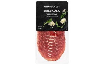 Pirkka Parhaat Bresaola ilmakuivattua naudanlihaa 70g