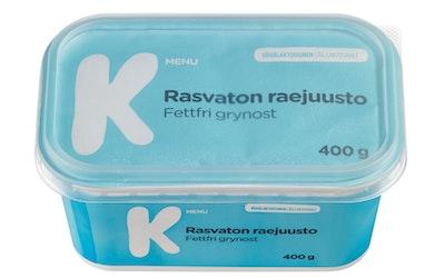 K-Menu rasvaton raejuusto 400g