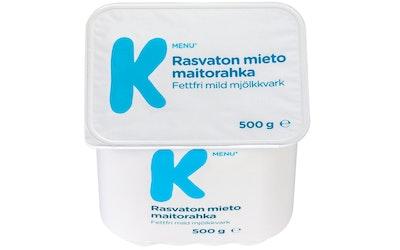 K-Menu rasvaton mieto maitorahka 500g