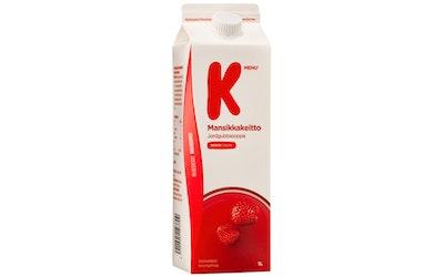 K-Menu mansikkakeitto 1l