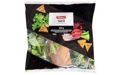 Pirkka taco-salaattisekoitus 220g