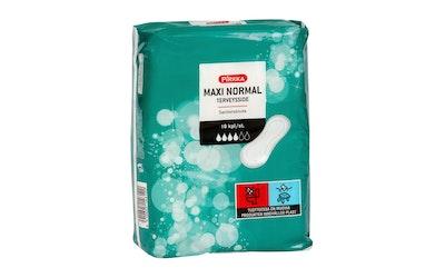 Pirkka Maxi Normal terveysside 18 kpl