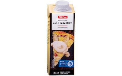 Pirkka vaahtoutuva vaniljakastike 2,5 dl laktoositon