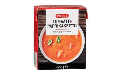 Pirkka tomaatti-paprikakeitto 390g