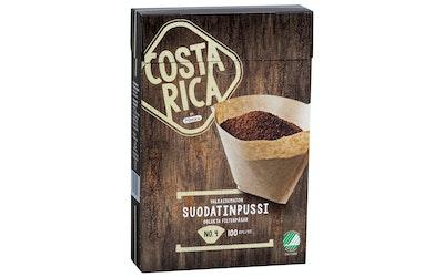 Pirkka Costa Rica valkaisematon suodatinpussi No.4 100kpl