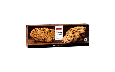 Pirkka gluteeniton suklaacookie 9kpl/150g