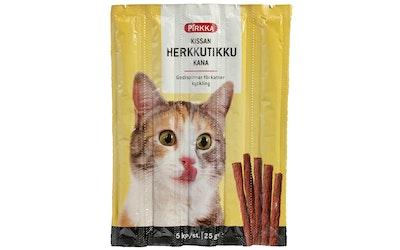 Pirkka kissan herkkutikku kana 5kpl/25g