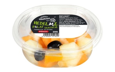 Pirkka Helposti mukaan hedelmäpalat 200g