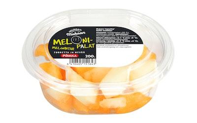 Pirkka Helposti mukaan melonipalat 200g