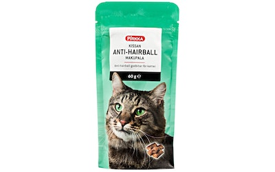 Pirkka kissan anti-hairball makupala 60g