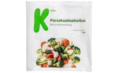 K-Menu parsakaalisekoitus 1kg pakaste