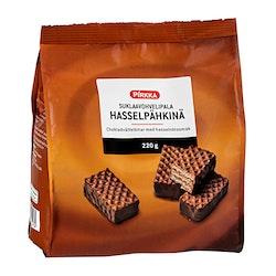 Pirkka hasselpähkinänmakuinen suklaavohvelipala 220g