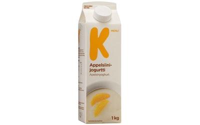 K-Menu appelsiinijogurtti 1kg