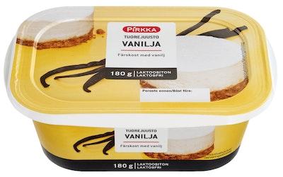 Pirkka tuorejuusto vanilja 180g laktoositon
