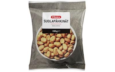Pirkka suolapähkinät 150g