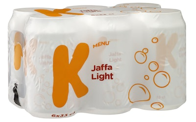 K-Menu Jaffa light 0,33l 6-pack