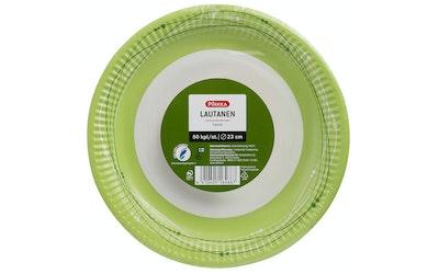 Pirkka Koru vihreä lautanen 23cm 50kpl