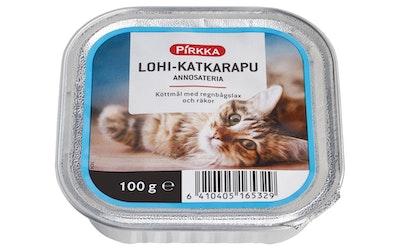 Pirkka lohi-katkarapu annosateria 100g