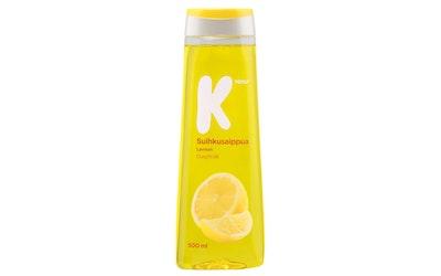 K-Menu suihkusaippua lemon 500ml