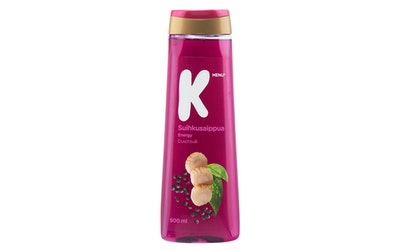 K-Menu suihkusaippua energy 500ml