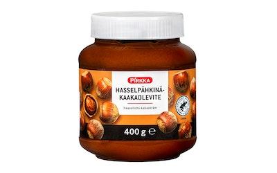 Pirkka hasselpähkinä-kaakaolevite 400g UTZ