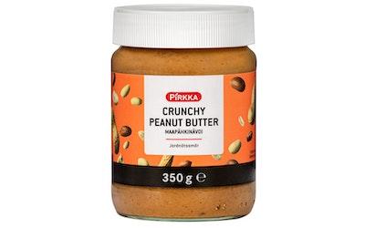 Pirkka peanut butter crunchy 350g