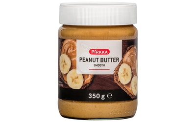 Pirkka peanut butter smooth 350g