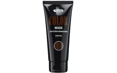 Pirkka Color Mask sävyttävä hiusnaamio 100ml Brownie