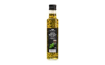 Pirkka Parhaat maustettu ekstra-neitsytoliiviöljy (98 %) basilika 250ml