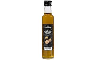Pirkka Parhaat maustettu ekstra-neitsytoliiviöljy (98 %) tryffeli 250ml - kuva