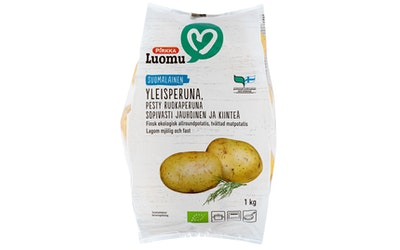 Pirkka Luomu suomalainen yleisperuna 1kg