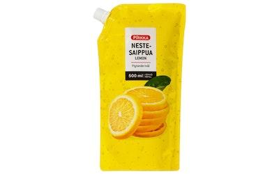 Pirkka nestesaippua lemon 500ml täyttöpakkaus