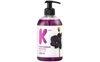 K-Menu nestesaippua black orchid 500ml